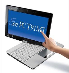 ASUS presenta su Eee PC T91MT, el primer netbook del mercado con pantalla Multi-Táctil