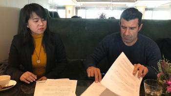 Luis Figo, se convierte en nuevo embajador de la marca HISENSE