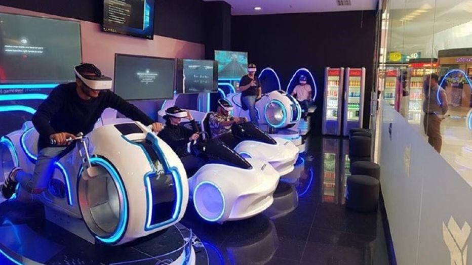 7fun abrirá en España su primer centro arcade de realidad virtual Immotion