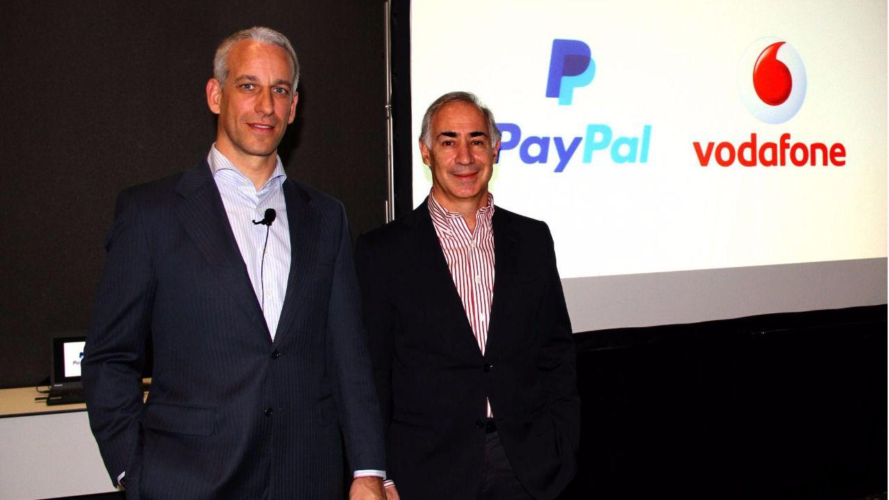 España, primer pais para Vodafone Wallet con Paypal