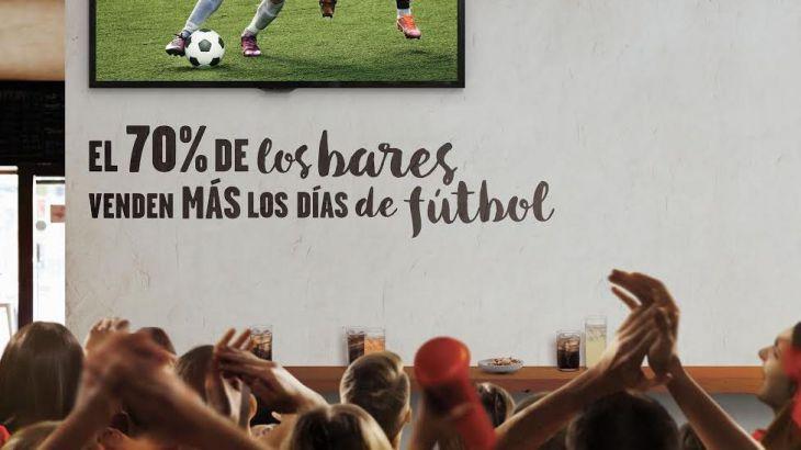 Vodafone One Restauración, la nueva solución de Vodafone el fútbol en bares y restaruantes