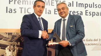 """AMETIC concede a CaixaBank el """"Premio al impulso de las TIC en la Empresa Española"""""""