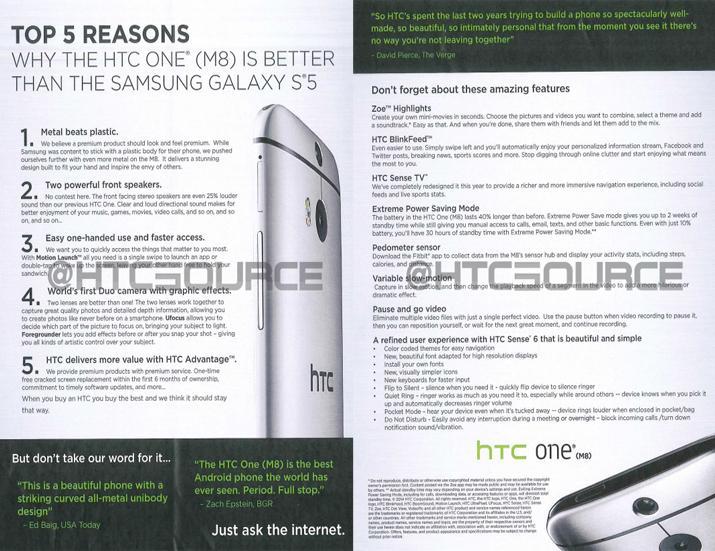 La publicidad agresiva de HTC