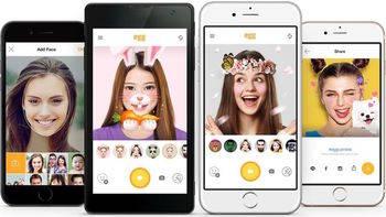 LINE lanza 'egg', una app para jugar con los selfies y crear máscaras 3D