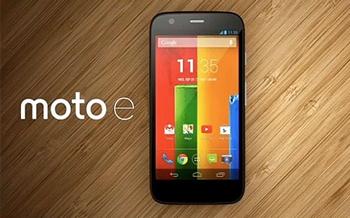 Motorola lanza el moto e