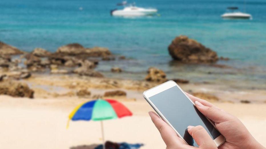 Estas son las playas de España que tienen conexión WiFi