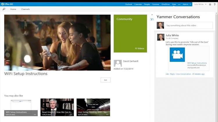 Office 365 Video: el YouTube de Microsoft para empresas