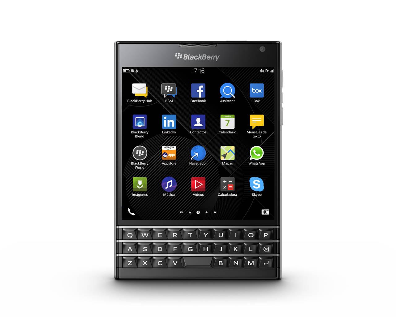 BlackBerry Passport, llega de la mano de Vodafone