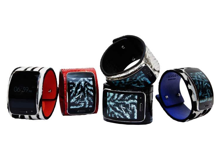 Samsung Gear S by ALVARNO, la moda y la tecnología van de la mano