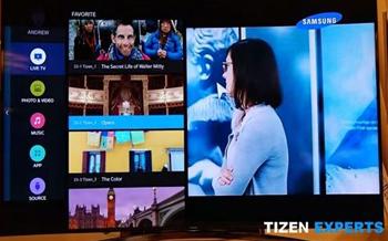 Samsung presenta su primera Smart TV con Tizen