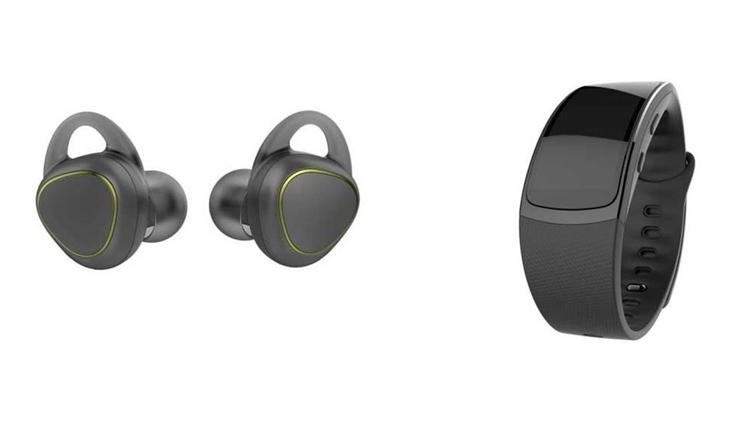 Samsung deja ver dos nuevos 'wearables': una pulsera y unos auriculares
