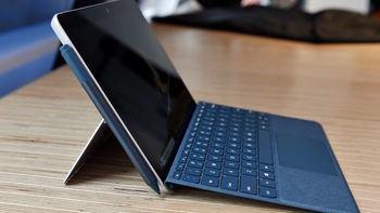 La tableta Surface Go de Microsoft, pequeña y de bajo coste