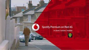 Vodafone ofrecerá Spotify Premium en exclusiva
