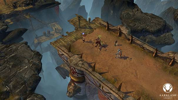 Aarklash: nuevo juego de Cyanide. mostramos escenarios