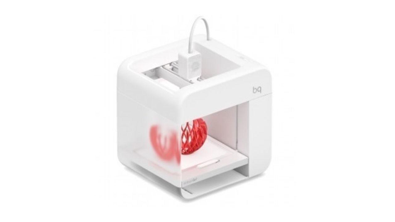 BQ quiere introducir la impresión 3D 'Made in Spain' en los hogares