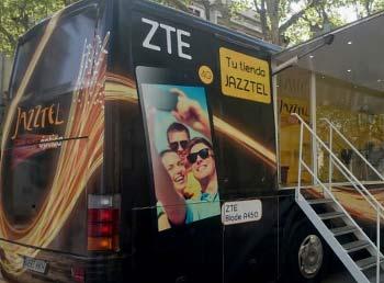 Un roadshow para presentar el nuevo ZTE Blade A450