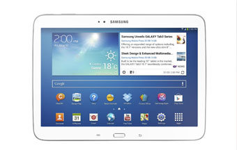 Samsung Galaxy Tab 3: gama completa
