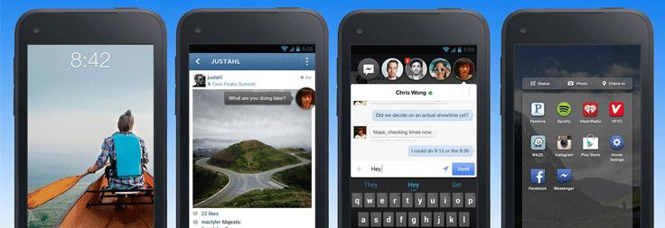 Facebook quiere convertir nuestro móvil en su casa