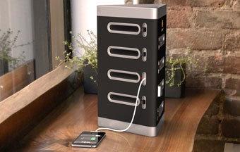Life-Spot: un nuevo concepto de multicargador para Smartphone