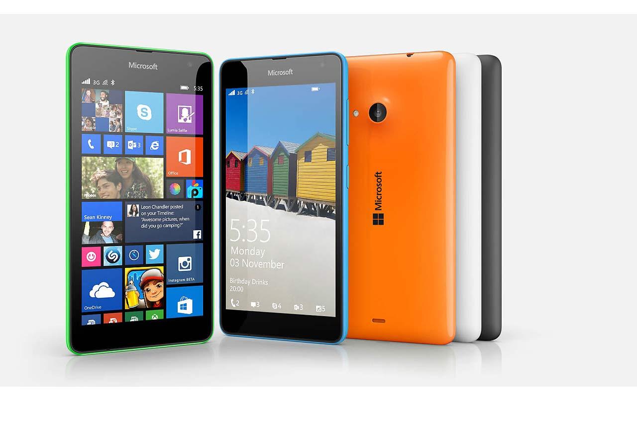 Microsoft Lumia 535, ya disponible en España