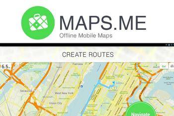 MAPS.ME disponible gratuitamente para iOS, Android y BlackBerry