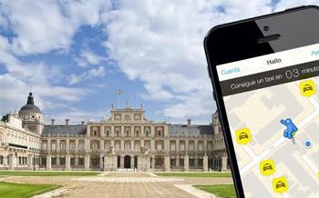 Pide ya un taxi en Aranjuez, con Hailo, la app gratuita de taxis