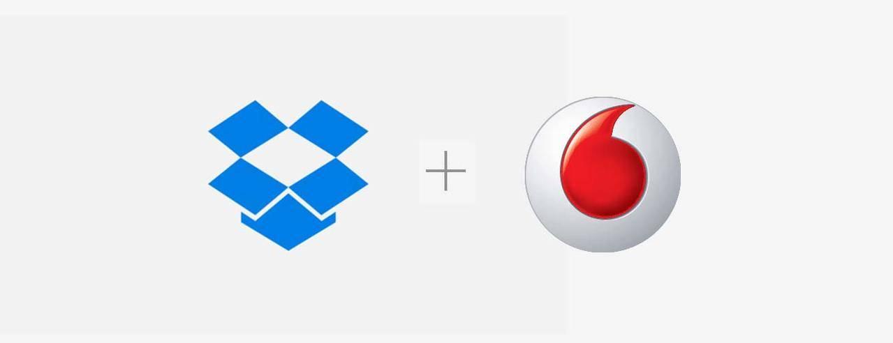 Acuerdo de Vodafone y dropbox para guardar con seguridad todos los contenidos del móvil