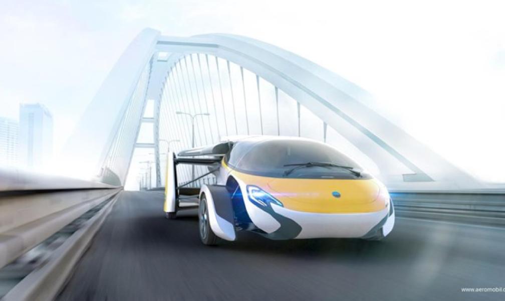 AeroMobil presentará este futurista coche volador el 20 de abril en Mónaco, que podrá reservarse este año